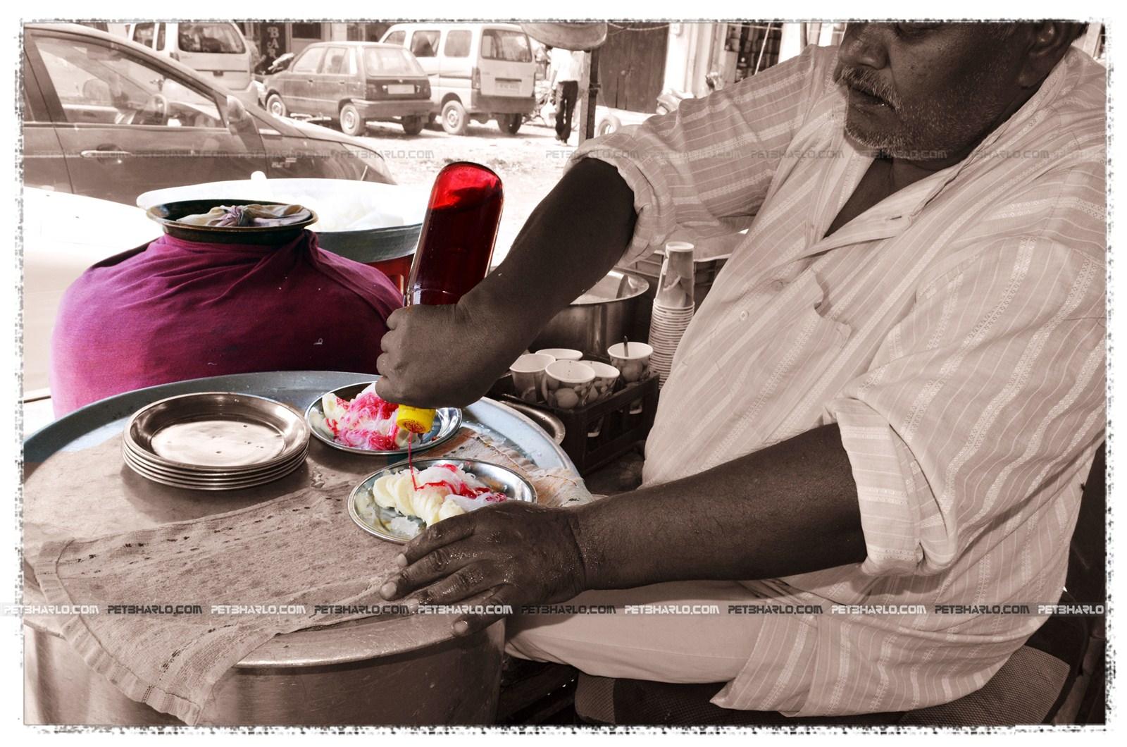 Ice Cream-Mehre ki Lachhe wali Kulfi-Udhampur-Gole Market