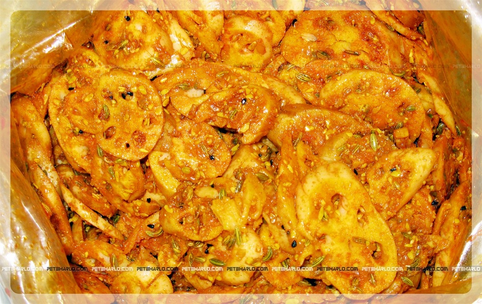 Nandru-Lotus-Stem-Jammu-Pickles-Dogra-Food-Cuisine